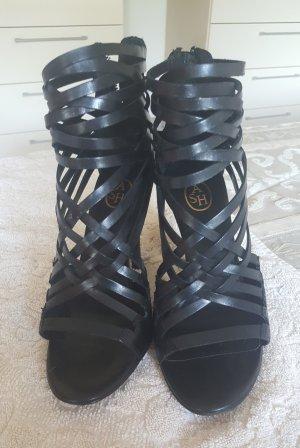 Schwarze Sandalette Gr. 38 von Ash