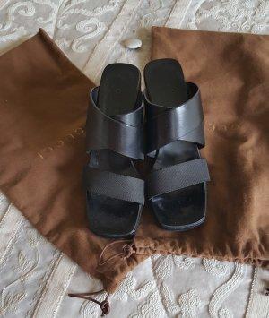 Schwarze Sandalette von Gucci - Gr. 36,5