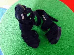 Mango High-Heeled Sandals black