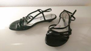 Strapped High-Heeled Sandals black-light grey