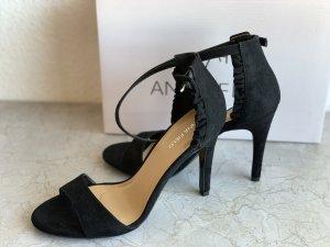 Anna Field Hoge hakken sandalen zwart