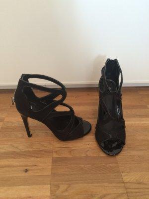 Schwarze Sandaletten von Asos