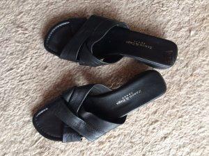 Schwarze Sandaletten von Zanon & Zago Größe 40