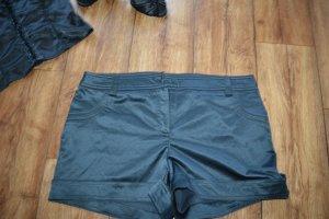 Schwarze Satun Hot Pants Gr. 40 von orsay