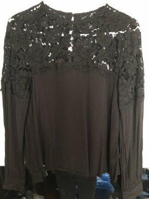 Schwarze schicke Bluse