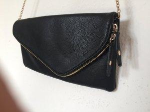 schwarze schicke Clutch / Handtasche