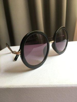 Schwarze Schicke Sonnenbrille
