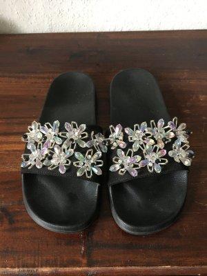 Comfortabele sandalen zwart