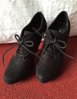 Schwarze schlichte Ankle Boots