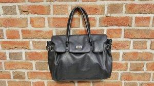 Schwarze, schlichte Tasche