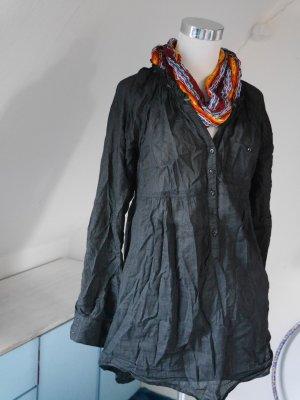 Schwarze Schlupf - Bluse