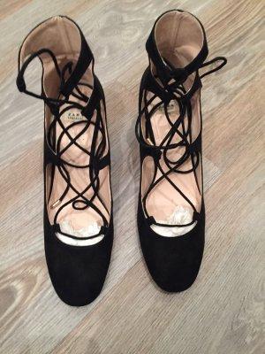 Schwarze Schnürschuhe von Zara