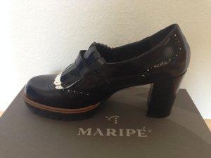 schwarze Schuhe mit Absatz von Maripé
