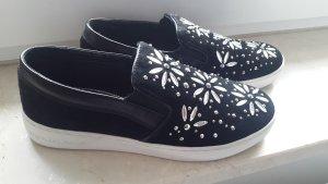 Michael Kors Slippers black leather