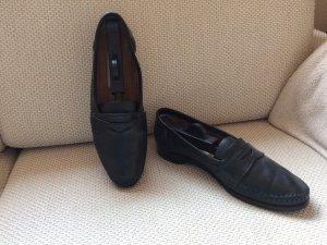 Schwarze Schuhe von Lorenzo Banfi