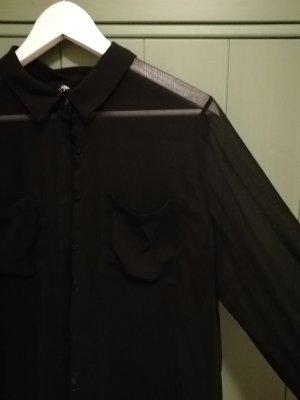 Schwarze See Trough Bluse