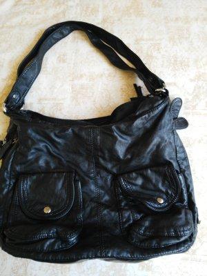 Schwarze sehr räumlich Tasche