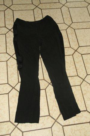 Schwarze Seidenhose von H&M