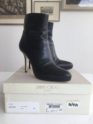 Schwarze sexy Stiefeletten von Jimmy Choo Gr. 41