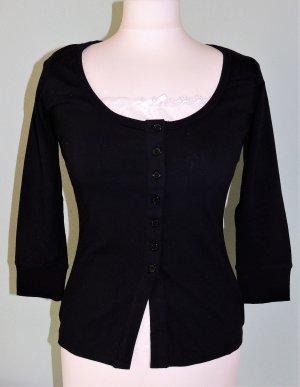 Veste chemise noir-blanc coton