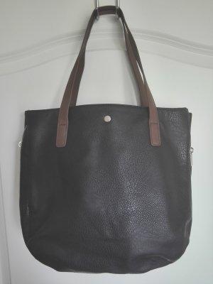 Schwarze Shopper Bag