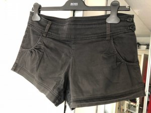Shorts black cotton