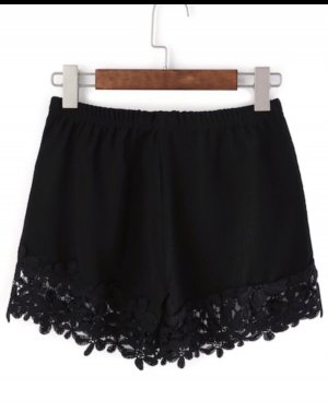 Sheinside Hot pants zwart