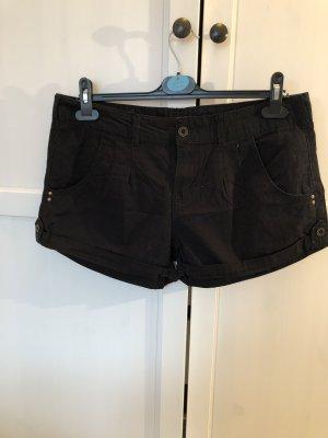 Denim Co. Hot pants zwart