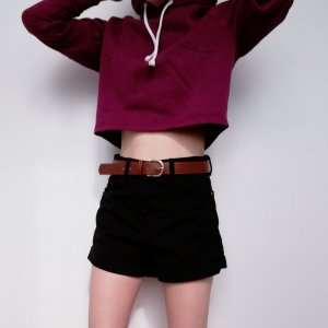 Bershka Denim Shorts black