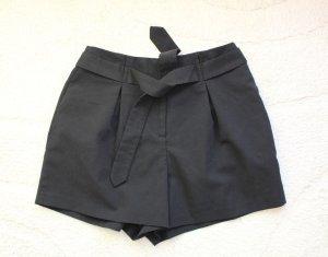 Asos High-Waist-Shorts black