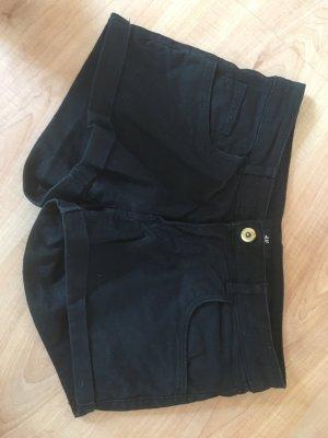Schwarze Shorts/Hot Pants