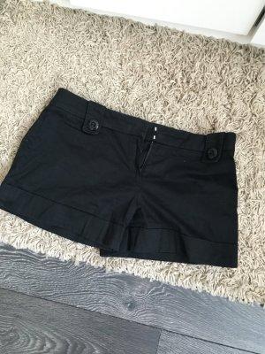 Schwarze Shorts Orsay