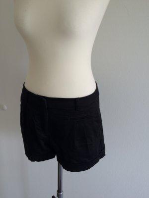 schwarze Shorts von H&M