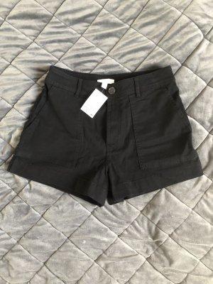 Schwarze Shorts von H&M, Größe 40