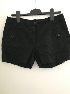 Schwarze Shorts von H&M in Größe 40