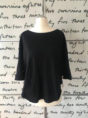 Schwarze Sisley Bluse