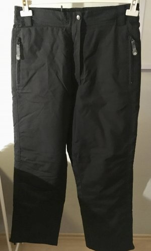 Pantalón de esquí negro poliamida