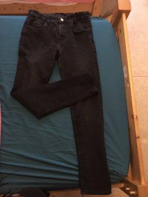 Schwarze skinny fit Hose aus H&M