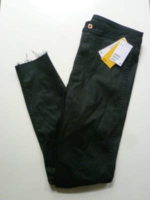 H&M High Waist Jeans black mixture fibre