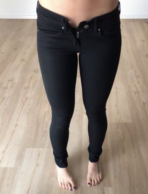 H&M Divided Low-Rise Trousers black