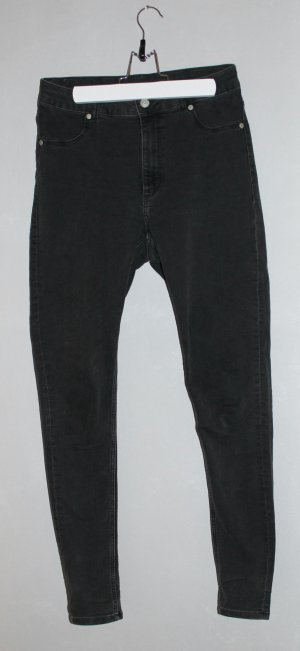 Cheap Monday Vaquero skinny gris antracita-negro