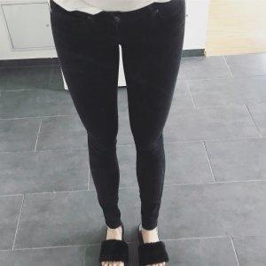 schwarze Skinny Jeans Dr. Denim