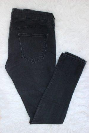 Schwarze Skinny Jeans H&M W27 L32