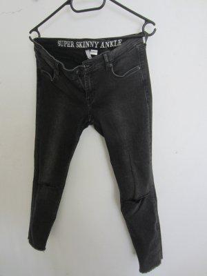 schwarze skinny Jeans in der Farbe schwarz