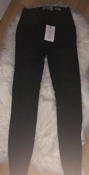 New Look Hoge taille jeans zwart