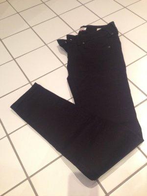 Schwarze Skinny Jeans von Tommy Hilfiger