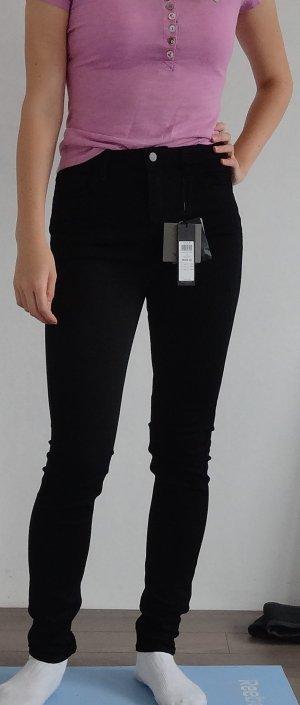 Schwarze skinny Jeans von Vila