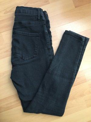 Only Stretch Jeans black-grey cotton