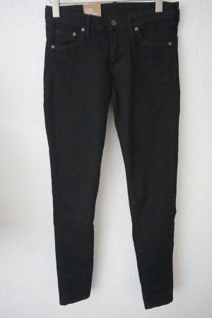 Schwarze Skinnyhose H&M