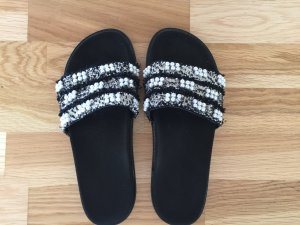 Zara Mules black-white